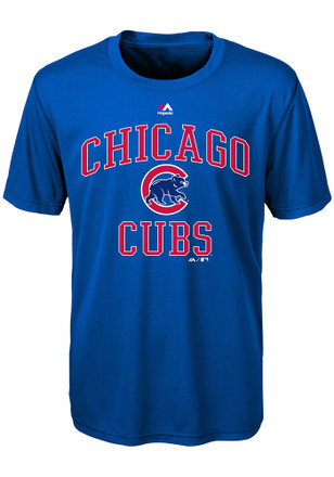 Chicago Cubs Youth Blue City Wide T-Shirt
