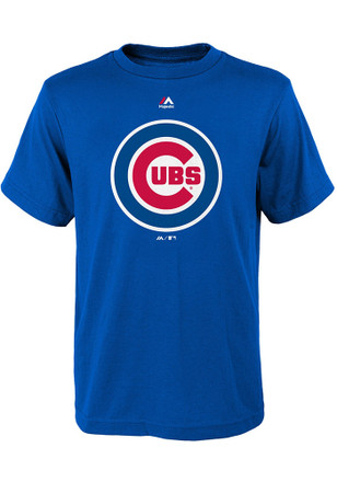 Chicago Cubs Youth Blue Primary T-Shirt