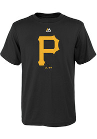 Pittsburgh Pirates Youth Black Primary T-Shirt
