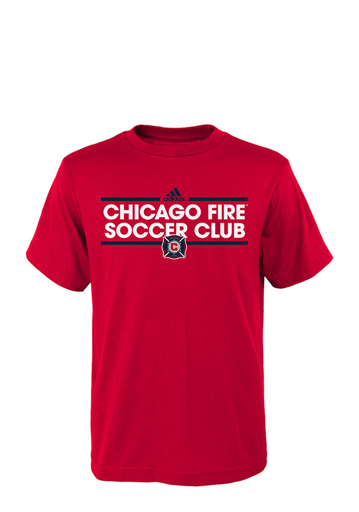 Chicago Fire Youth Red Dassler Short Sleeve T-Shirt - Image 1