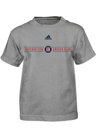 Chicago Fire Boys Grey Primary T-Shirt