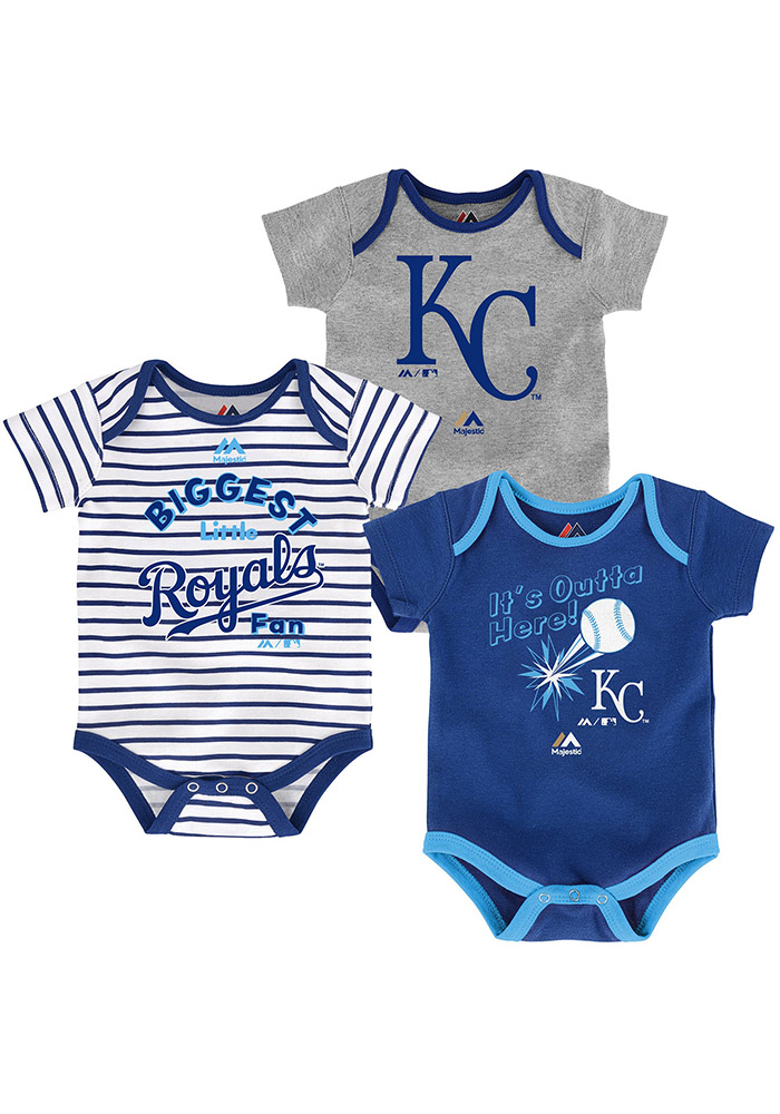 Kansas City Royals Baby Blue Homerun Creeper - Image 1