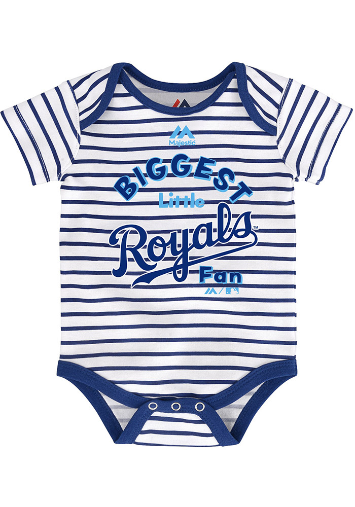 Kansas City Royals Baby Blue Homerun Creeper - Image 4