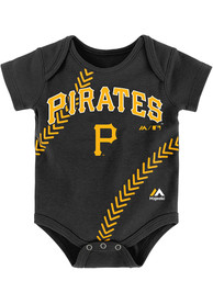 Pittsburgh Pirates Baby Black Fan-Atic One Piece