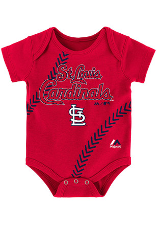 St Louis Cardinals Baby Red Fan-Atic Creeper