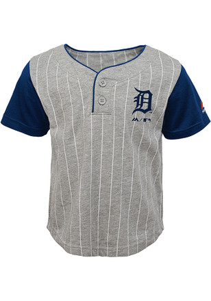 Detroit Tigers Toddler Grey Batter Up Top and Bottom