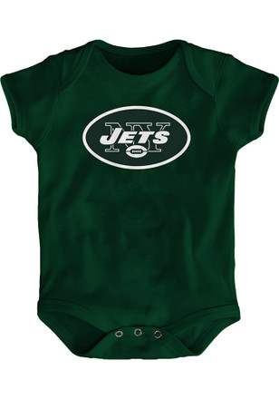 New York Jets Baby Green Primary Logo Creeper