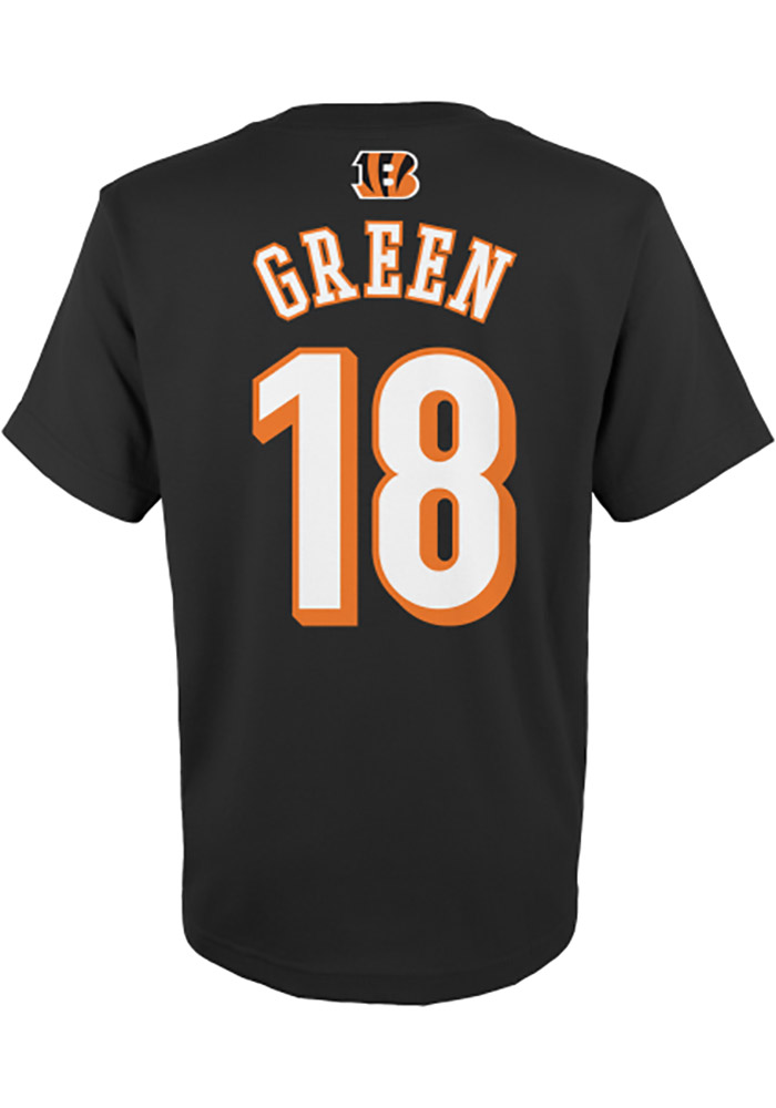 AJ Green Cincinnati Bengals Youth Player T-Shirt - Black