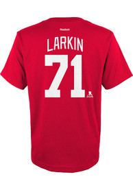 Dylan Larkin Detroit Red Wings Youth Player T-Shirt - Red