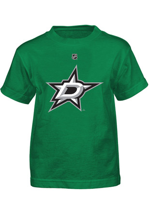 Tyler Seguin Dallas Stars Boys Green Player Name and Number T-Shirt