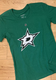 Tyler Seguin Dallas Stars Girls Green Player Name and Number Player Tee