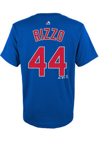 Anthony Rizzo Chicago Cubs Youth Player T-Shirt - Blue