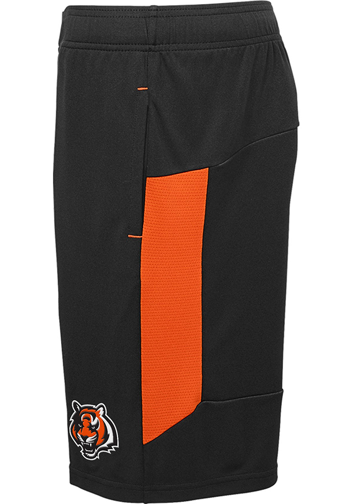 Cincinnati Bengals Youth Black Automation Shorts