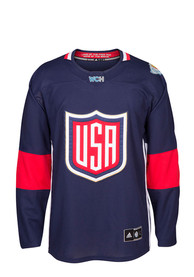 Team USA Youth Navy Blue Replica Jersey
