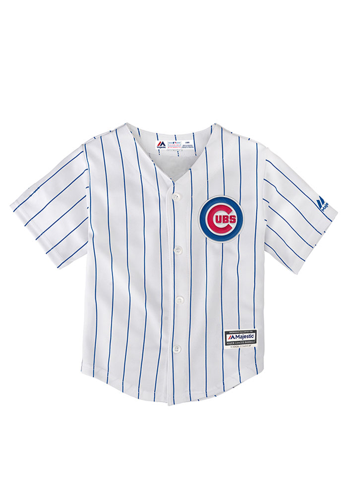 Chicago Cubs Toddler Replica Jersey - White - Image 1