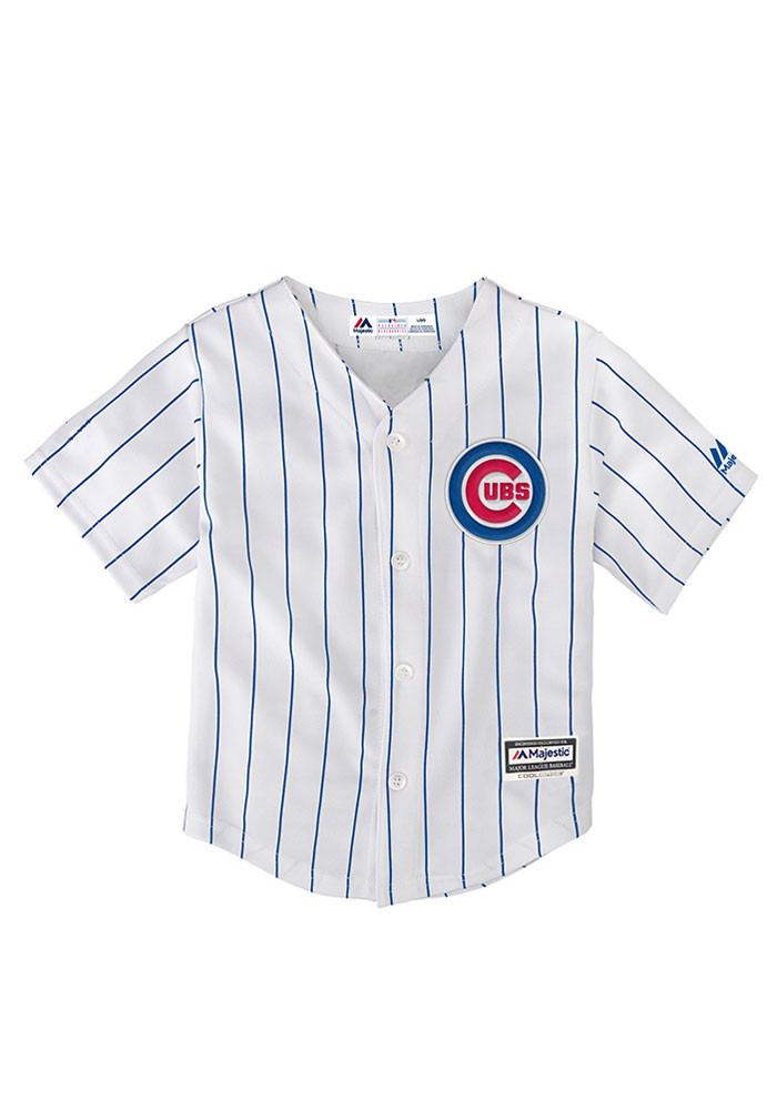 Chicago Cubs Baby White Cool Base Home Jersey Baseball Jersey - Image 1