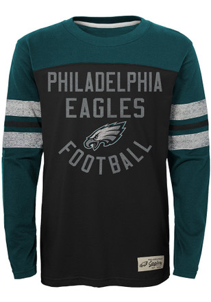 Philadelphia Eagles Youth Black Legacy T-Shirt