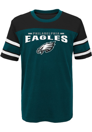 Philadelphia Eagles Boys Midnight Green Loyalty Fashion Tee