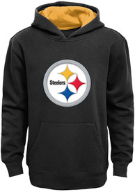 Pittsburgh Steelers Kids Black Prime Hooded Sweatshirt