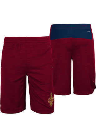 Cleveland Cavaliers Youth Red Free Throw Shorts