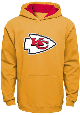 KC Chiefs Boys Gold Prime Hoodie