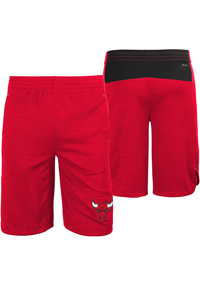 Chicago Bulls Youth Red Free Throw Shorts - Image 1