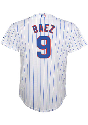 Javier Baez Outer Stuff Chicago Cubs Kids White Home Baseball Jersey