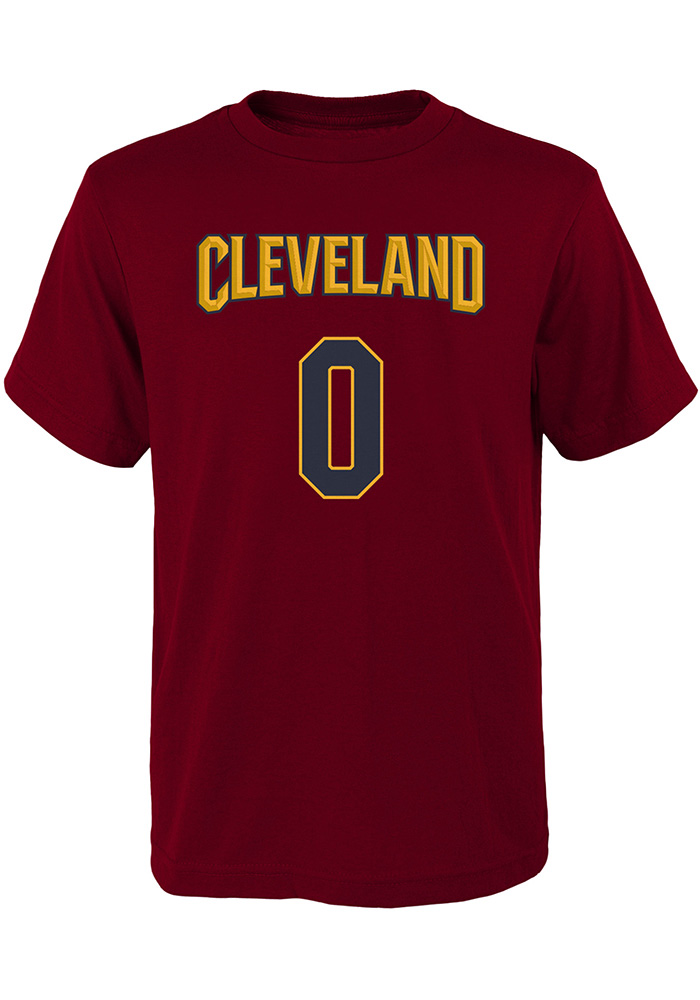 Kevin Love Cleveland Cavaliers Youth Maroon Player Player Tee - Image 1