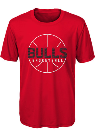 Chicago Bulls Youth Red Ultra T-Shirt