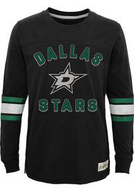 Dallas Stars Youth Historical T-Shirt - Black