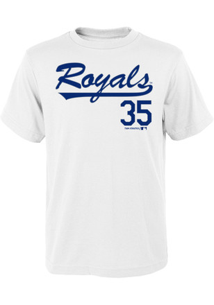 Eric Hosmer Outer Stuff Kansas City Royals Kids Name and Number Blue Player Tee