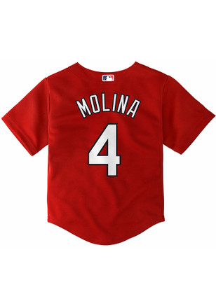 Yadier Molina St Louis Cardinals Toddler Red Alternate Baseball Jersey