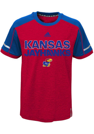Kansas Jayhawks Kids Red Player T-Shirt