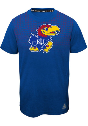 Kansas Jayhawks Kids Blue Surface T-Shirt
