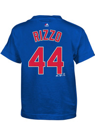 Anthony Rizzo Chicago Cubs Boys Outer Stuff Player T-Shirt - Blue
