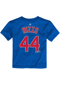 Anthony Rizzo Chicago Cubs Toddler Blue Player Player Tee