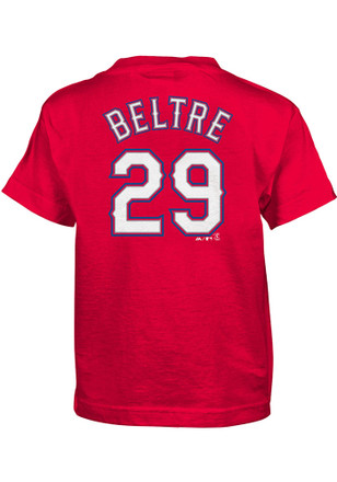 Adrian Beltre Texas Rangers Boys Blue Name and Number T-Shirt