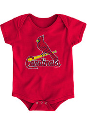 St Louis Cardinals Baby Red Primary One Piece