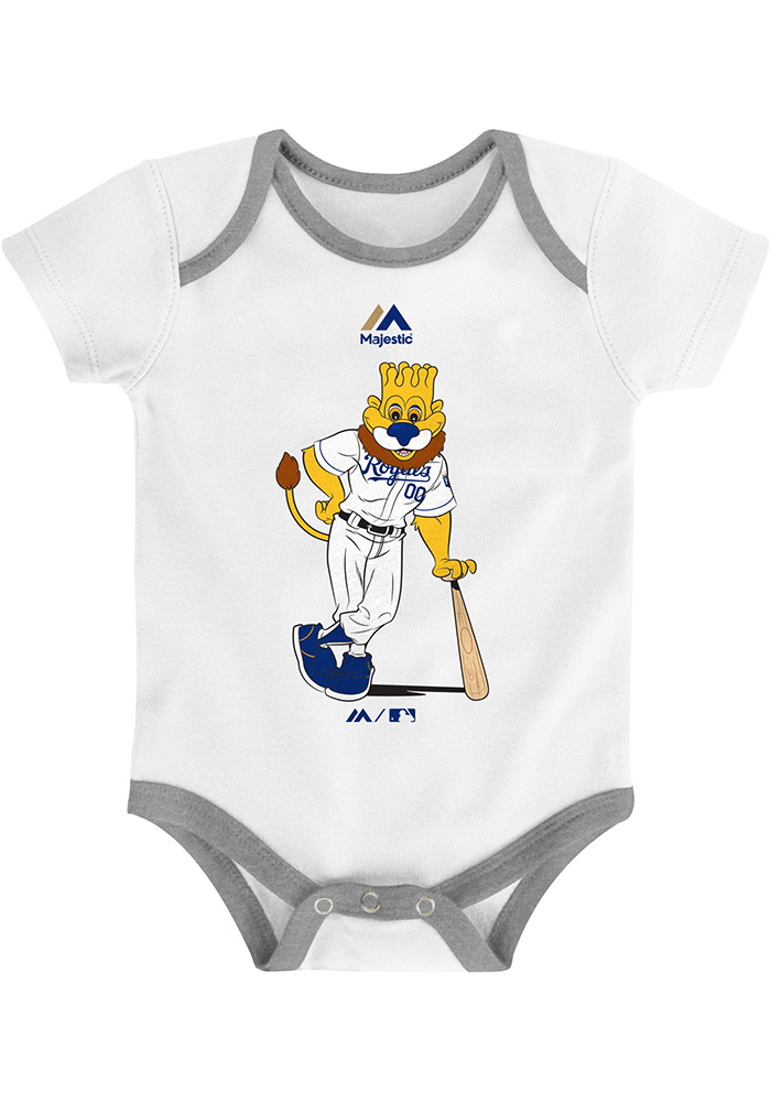 Kansas City Royals Baby Blue Small Fan One Piece - Image 2
