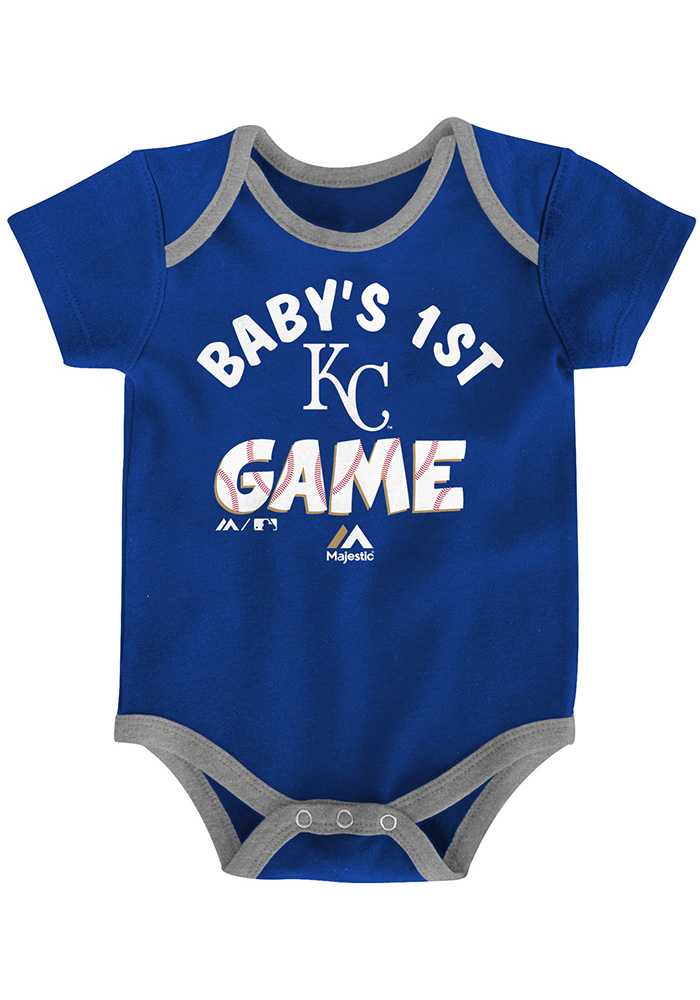 Kansas City Royals Baby Blue Small Fan One Piece - Image 3