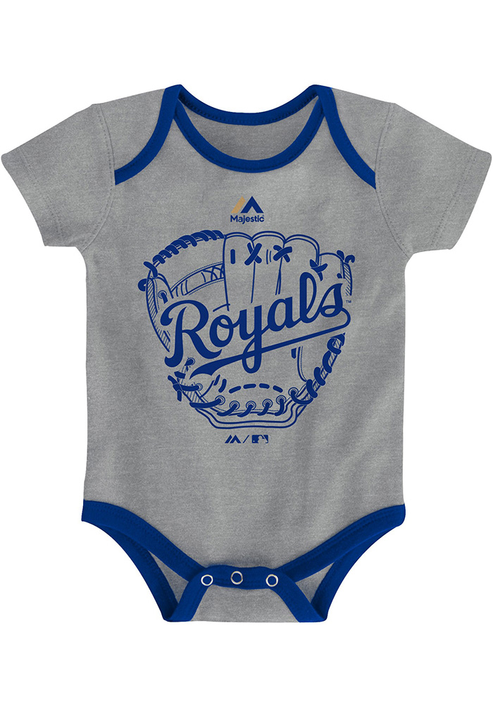 Kansas City Royals Baby Blue Small Fan One Piece - Image 4