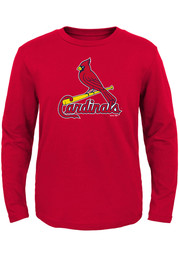 St Louis Cardinals Toddler Red Primary T-Shirt