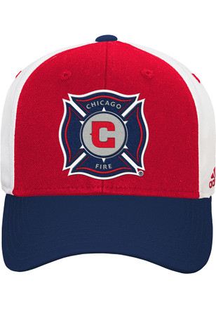 Chicago Fire Red Basic Youth Adjustable Hat
