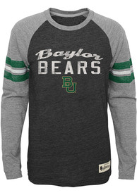 Baylor Bears Youth Green Pride Raglan T-Shirt