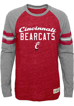 Cincinnati Bearcats Kids Red Pride Raglan T-Shirt