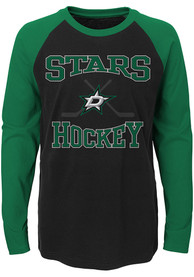 Dallas Stars Youth Black Morning Skate T-Shirt