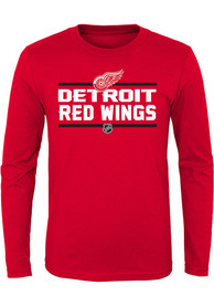 Detroit Red Wings Youth Red Epitome T-Shirt