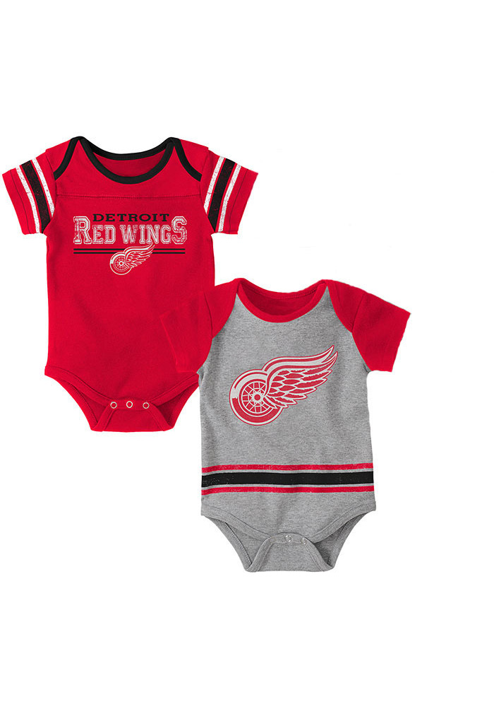 Detroit Red Wings Baby Red Definitive One Piece - Image 1