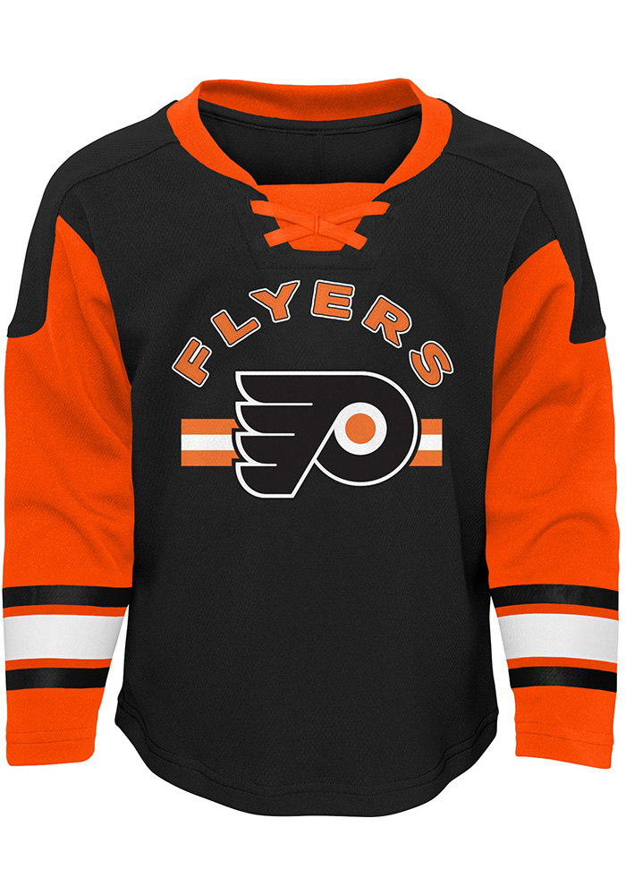 Philadelphia Flyers Toddler Orange Rink Rat Set Top and Bottom - Image 2