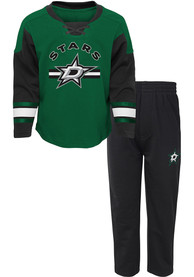 Dallas Stars Toddler Rink Rat Top and Bottom - Black